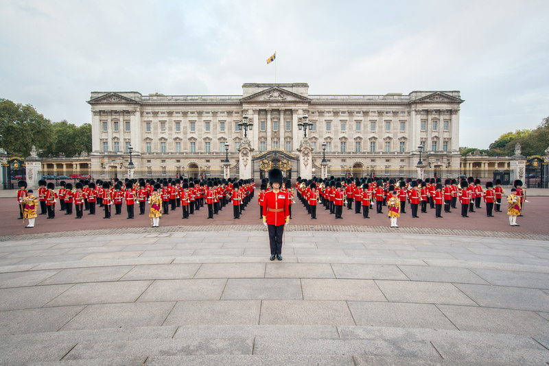 Massed Bands Of The Guards Division
