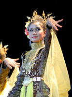 Traditional Malaysian Dancer